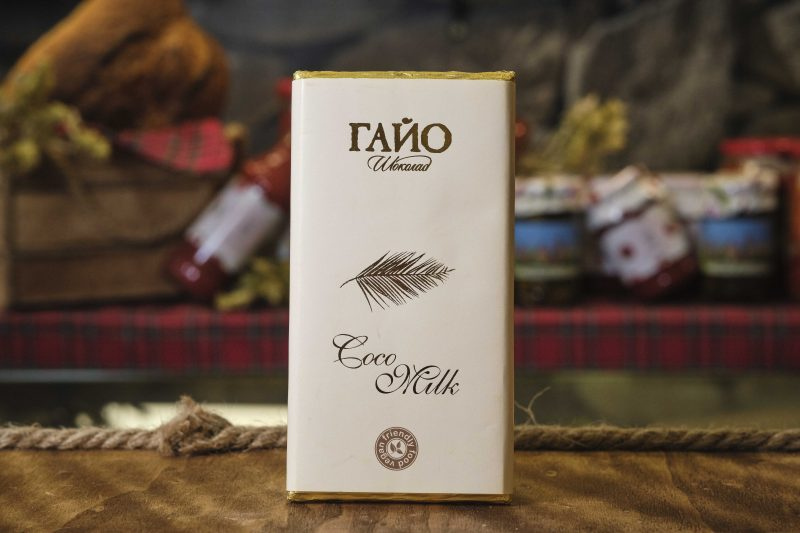 Гайо Coco Milk - веган млечен шоколад с кокосово мляко 80 гр . 1
