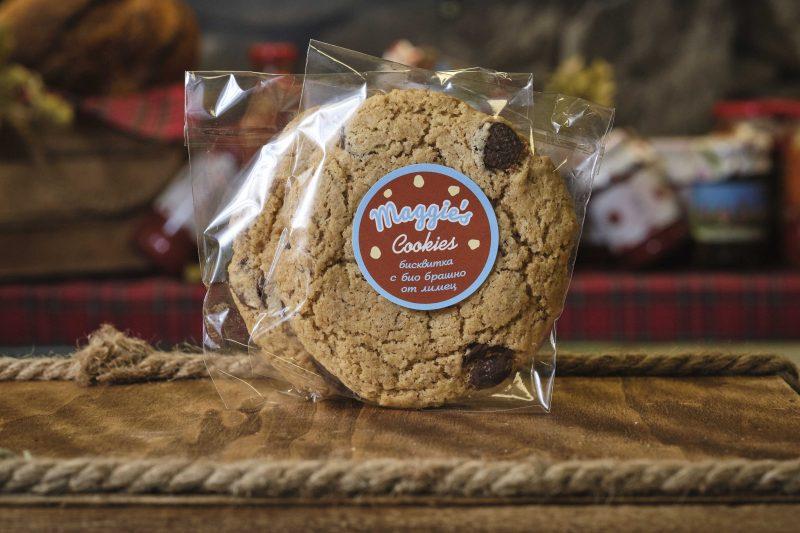 """Бисквитка с био брашно от лимец """"Maggie's"""" 85 гр . 1"""