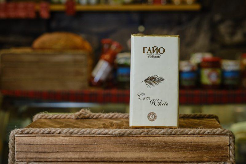 Гайо Coco White - веган бял шоколад с кокосово мляко 80 гр . 1