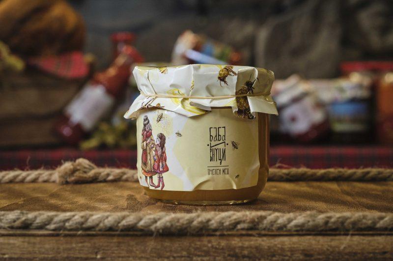 """""""Баба и Внуци"""" пчелен мед билков 450 гр . 1"""