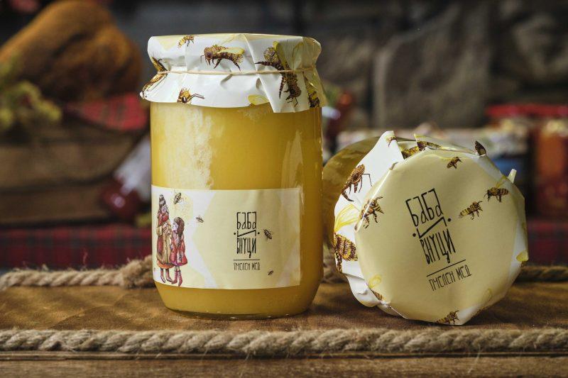"""""""Баба и Внуци"""" пчелен мед билков 950 гр . 1"""