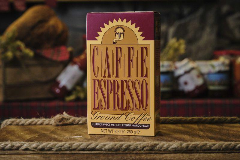 Мехмет Ефенди печено мляно кафе за еспресо 250 гр . 1