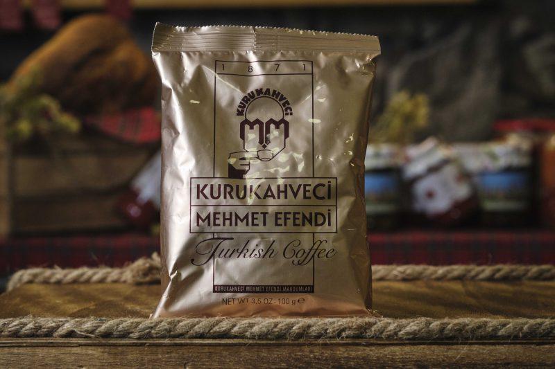 Мехмет Ефенди печено мляно турско кафе за джезве 100 гр . 1