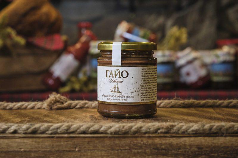 Гайо какаово-лешникова паста 200 гр . 1