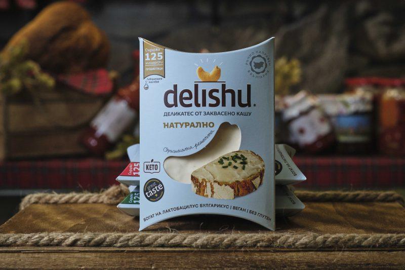 """Деликатес от заквасено кашу натурално """"DELISHU"""". 1"""