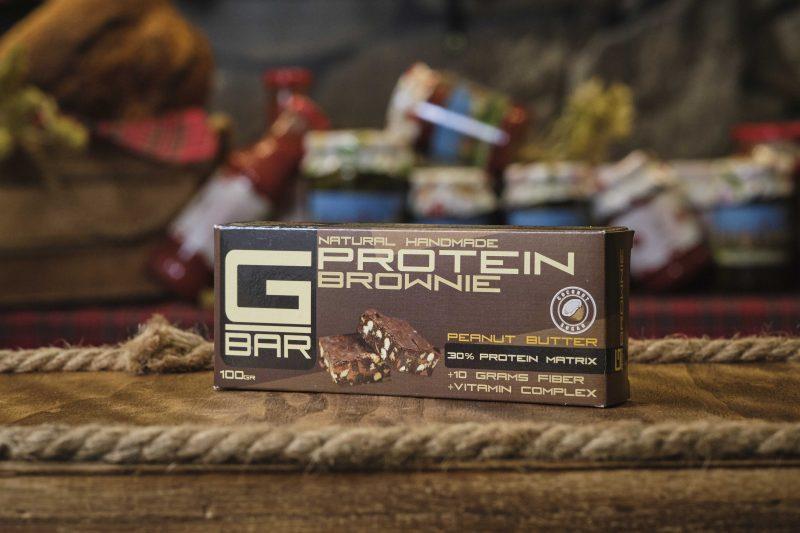 Протеинов бар с фъстъчено масло G-BAR 100 гр . 1