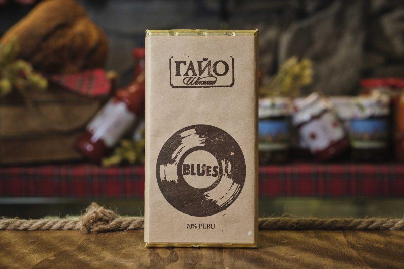 "Гайо ""Blues"" шоколад 70 % какао Перу 80 гр . 1"