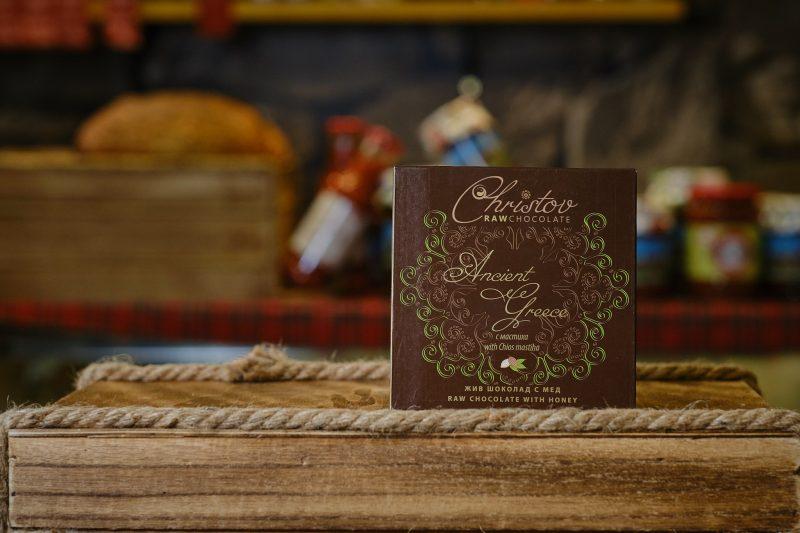"""Жив шоколад с мастиха от остров Хиос """"Christov"""" 84 гр. 1"""