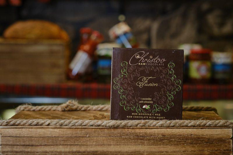 "Жив шоколад с шизандра ""Christov"" 84 гр. 1"