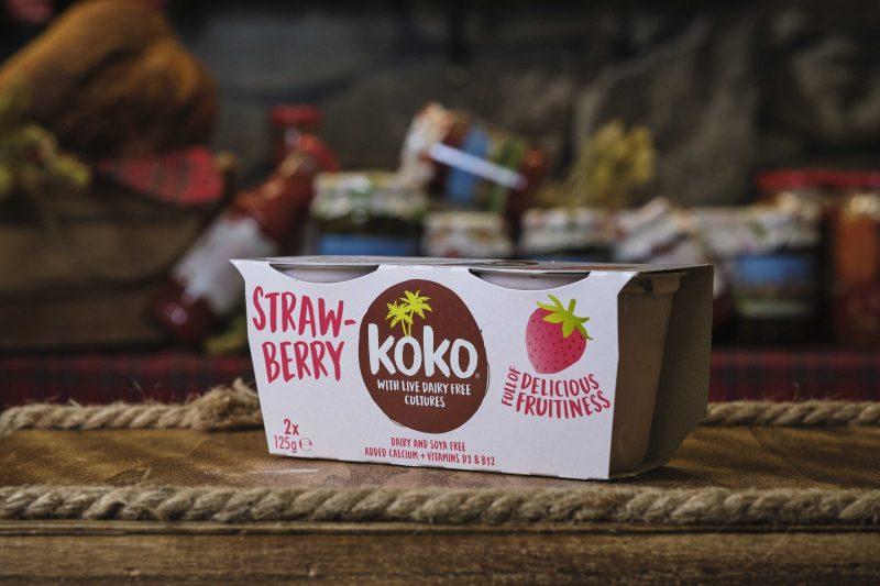 Кокосов йогурт с ягода КОКО 2Х125 гр. 1