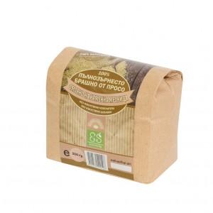 Екосем натурално пълнозърнесто брашно от просо 0.5 кг . 1