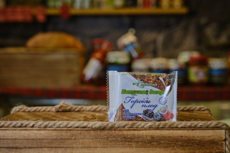 "Суров десерт ""Сарина"" с горски плод 40 гр . 1"