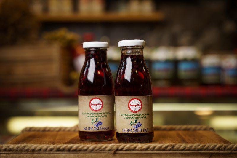 Бънар(Ч)е натурална напитка боровинка 250 мл. 1