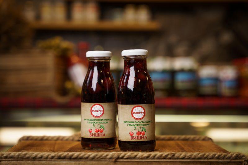 Бънар(Ч)е натурална напитка вишна 250 мл. 1