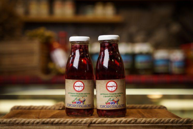 Бънар(Ч)е натурална напитка горски плодове 250 мл. 1