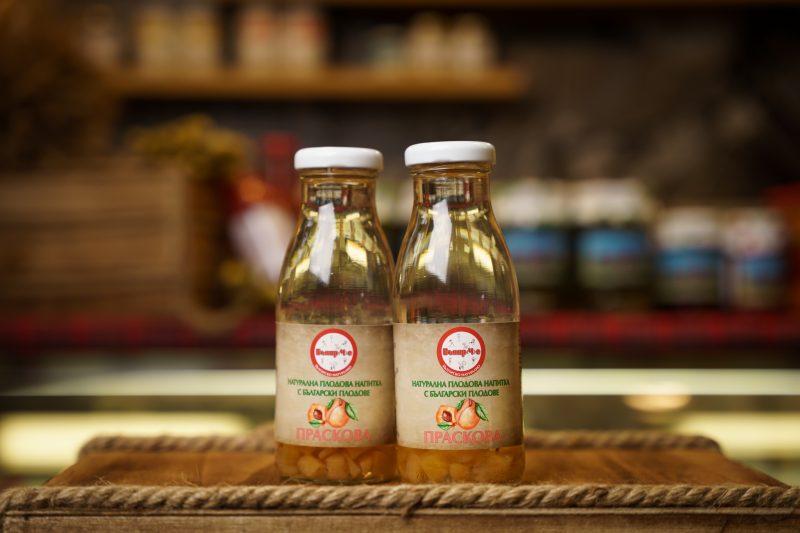 Бънар(Ч)е натурална напитка праскова 250 мл. 1