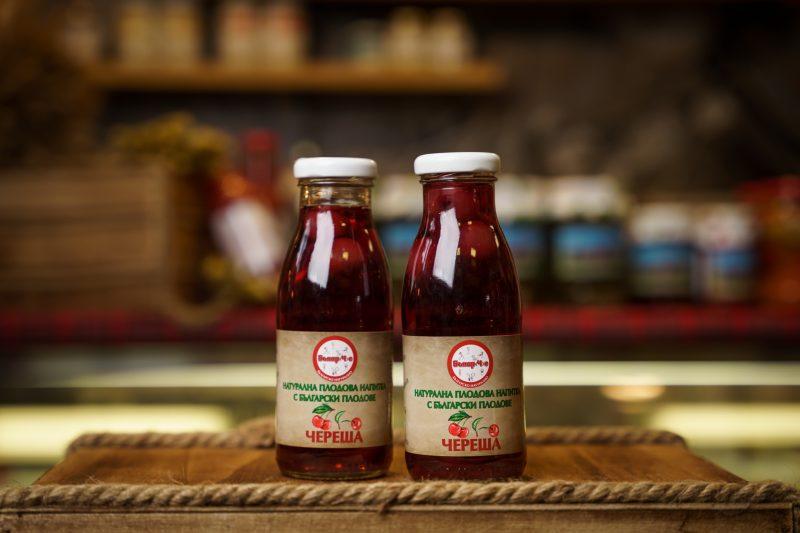 Бънар(Ч)е натурална напитка череша 250 мл. 1