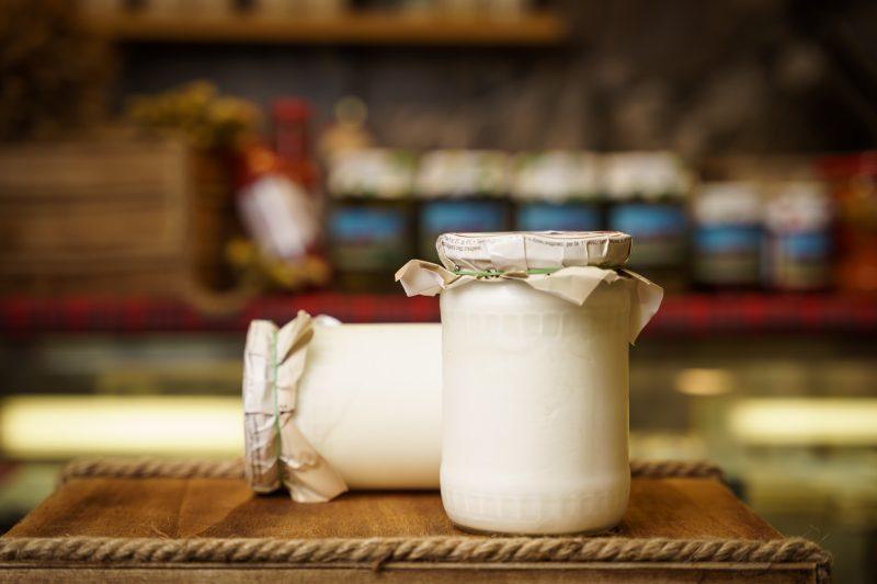 Козе кисело мляко от с. Александрово 580мл. 1