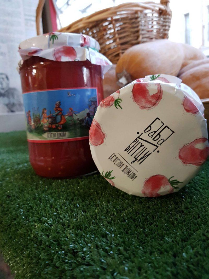 """Белени домати """"Баба и Внуци"""" 720 мл. 1"""