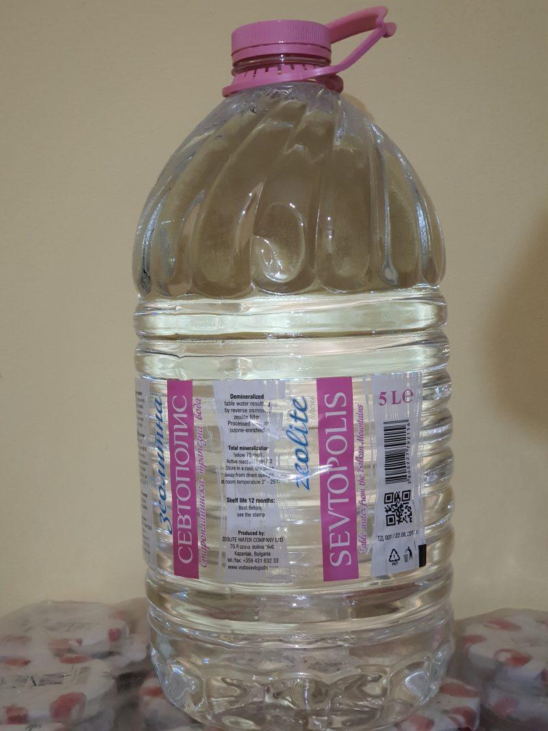 Вода севтополис трапезна 5л. 1