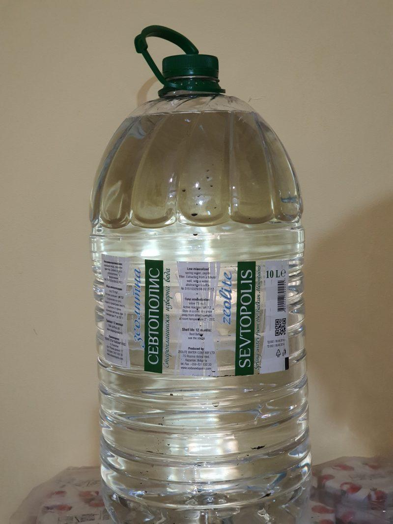 Вода севтополис зеолитна 10л. 1