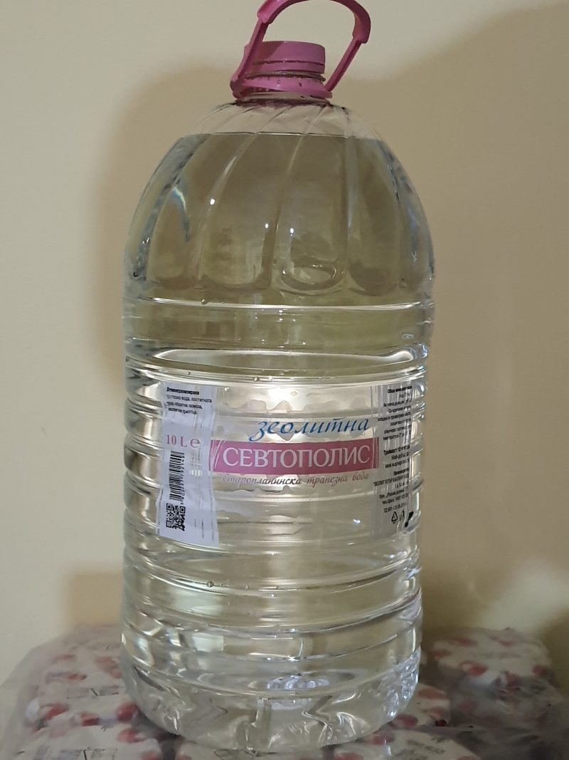 Вода севтополис трапезна 10л. 1